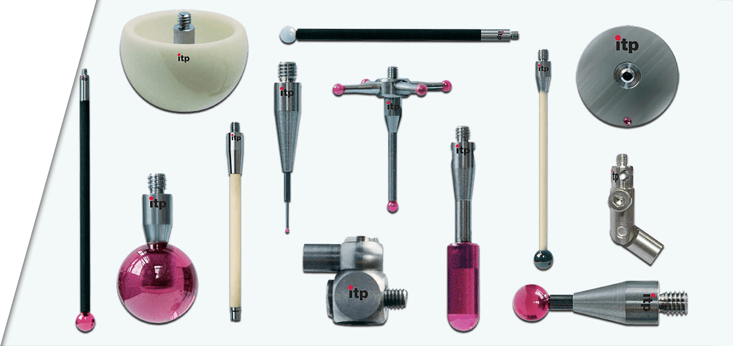 CMM Styli and Styli Accessories